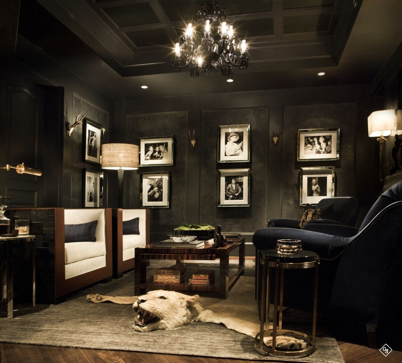 Lounge Home Ideas: Cigar Room, Man Cave