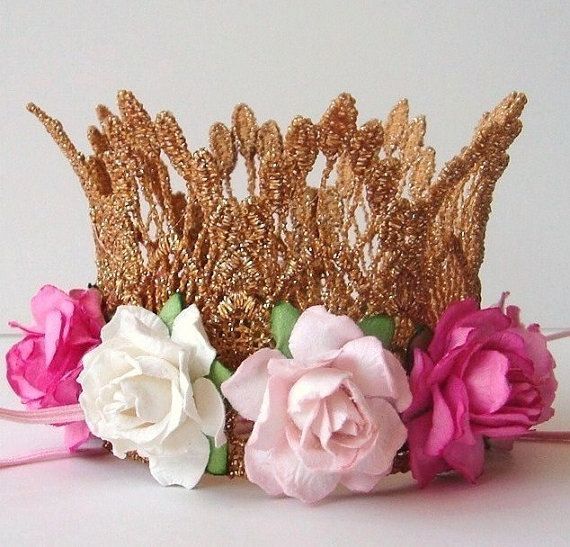 Gold Crown Cake Topper   Baby Shower Cake Topper   Bridal Shower Cake  Topper   Lace   Silver   Your Choice Of Colors