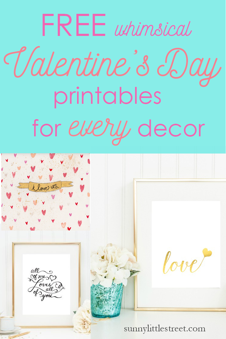 Pin by Sunny Little Street on Valentine\'s Day Printables | Pinterest