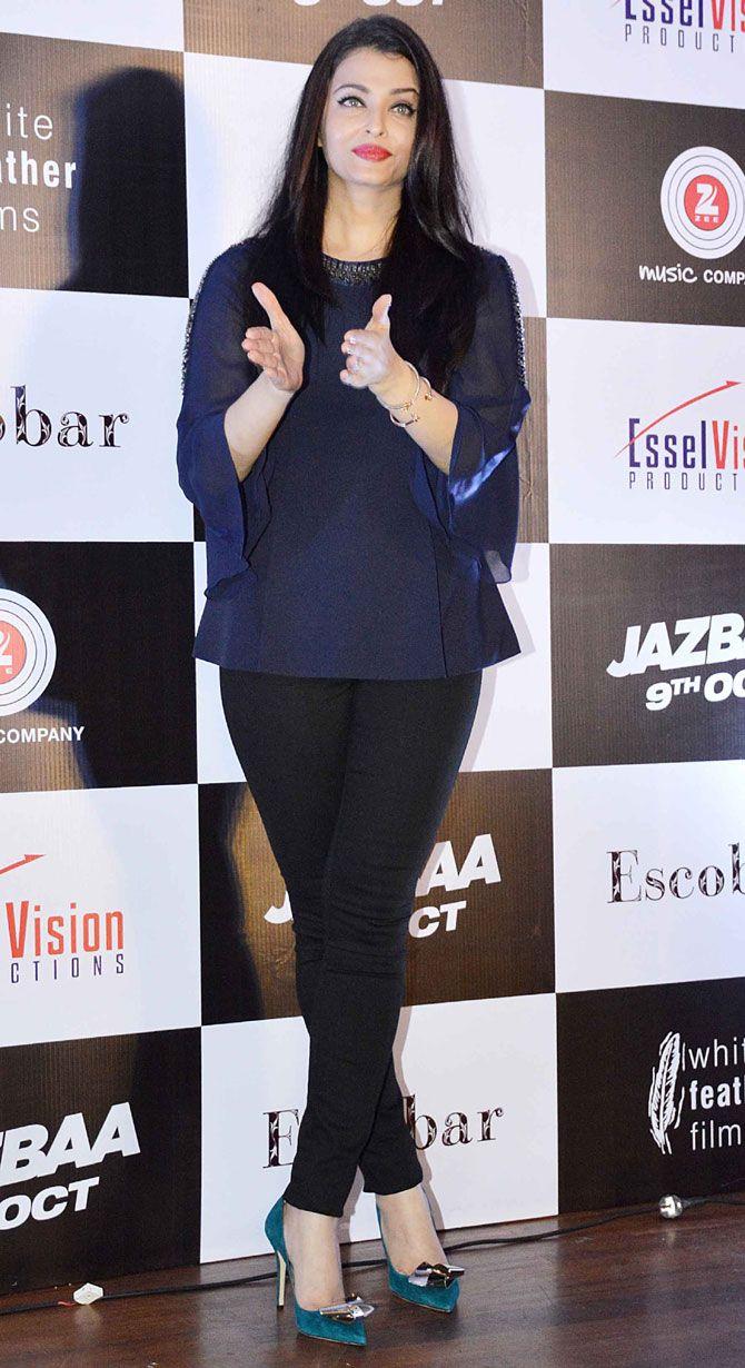 Aishwarya Rai Bachchan At The Launch Of Song Bandeyaa From Her