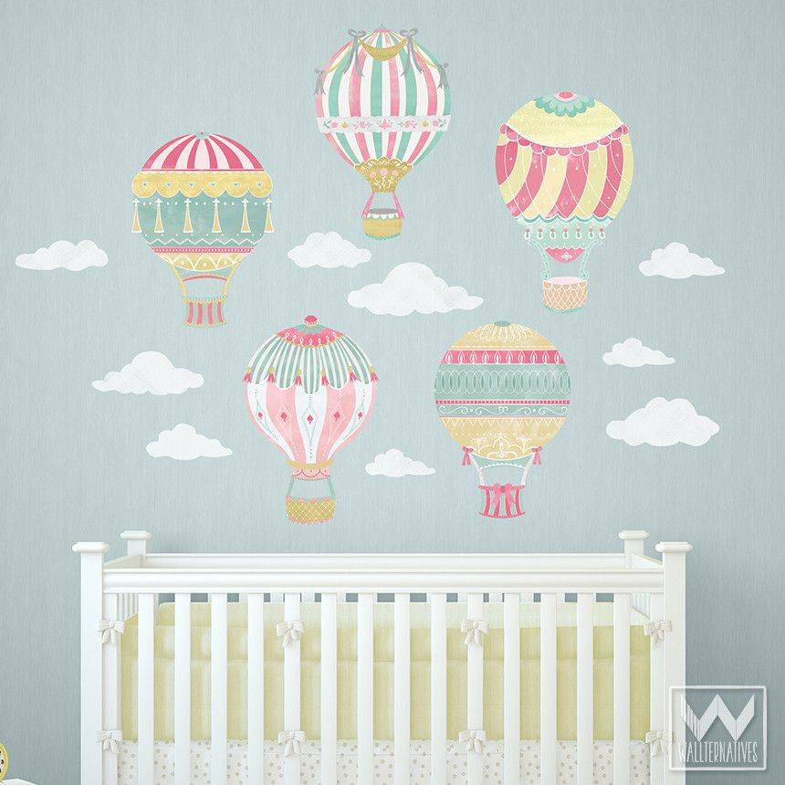 CLOUD Stickers Removable Kids Wall Decals Home Room Decor Best Gift