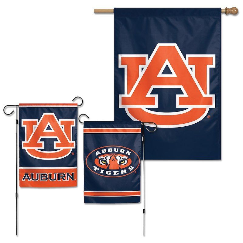Auburn Tigers Wincraft House Flag And Garden Flag Auburn Tigers Auburn Tigers Burlap Door Hangers Clemson Arkansas Razor In 2020 House Flags Auburn Tigers Garden Flags