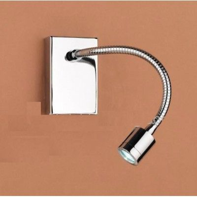 Bed Led Reading Light With Flexible Arm For Hotel Wl11036