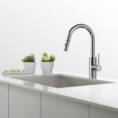 george oliver holyoke pull down single handle kitchen faucet in 2018 rh pinterest com