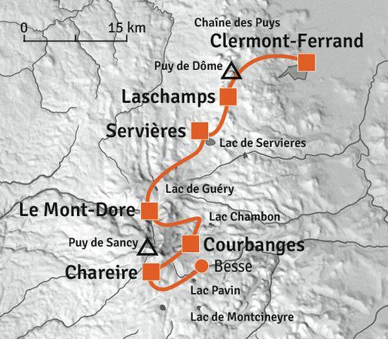 Du Puy De Dome Au Sancy Randonnee Accompagnee Massif Central Puy De Dome Puy De Sancy Sancy