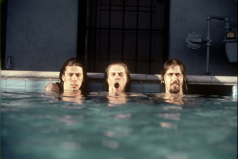 Signed limited edition photographic print of Nirvana from photographer Kirk  Weddle. From our exclusive collection of outtakes from the photo shoot with  Nirvana for promotional shots to promote the album Nevermind  Click on image to enlarge  Scroll down for further print information.