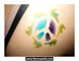 tattoo ideas as peace symbols love laugh be free colourfulpeace yin yang tattoo colour - Google Search