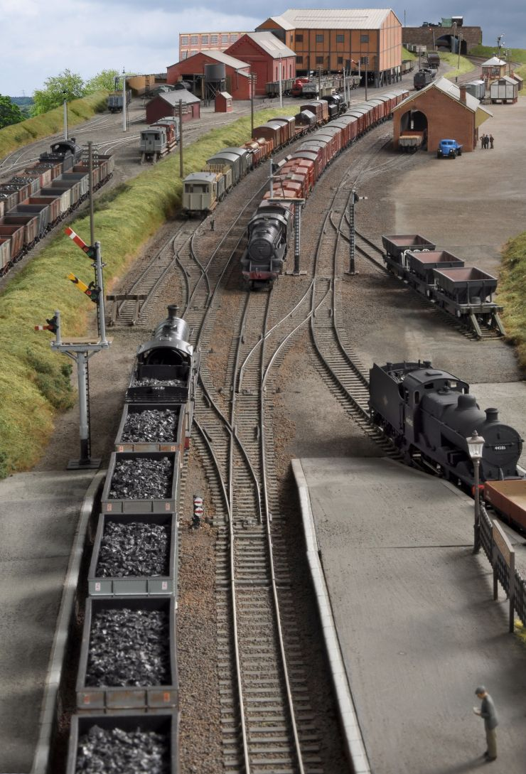Ackthorpe Model Train Scenery Model Railway Model Trains