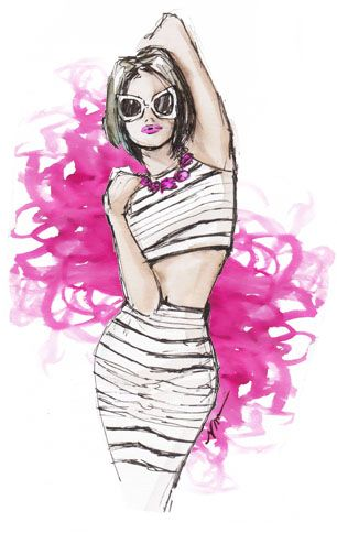 """Shades"" Illustration by Veronica Marche."
