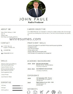 Best Radio Producer Resume Examples And Template Skills Teacher Resume Examples Resume Examples Resume Skills