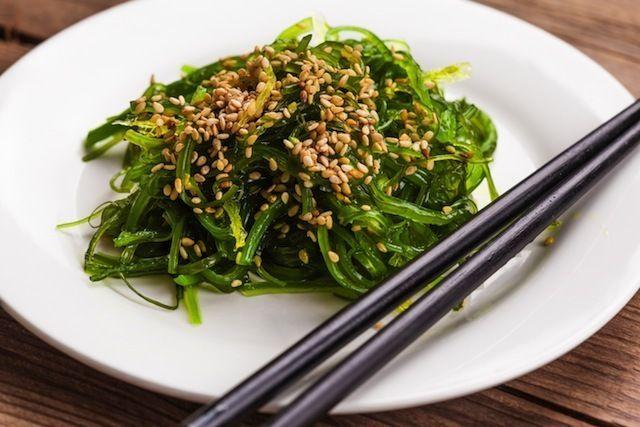 Goma Wakame Salat Wakame Seealgen Salat Fur Sushi Oder Einfach So