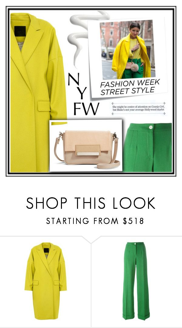 """""""NYFW - StreetStyle"""" by annalisa-xoxo ❤ liked on Polyvore featuring D.Efect, Dolce&Gabbana, Post-It, Lizzie Fortunato, StreetStyle and NYFW"""