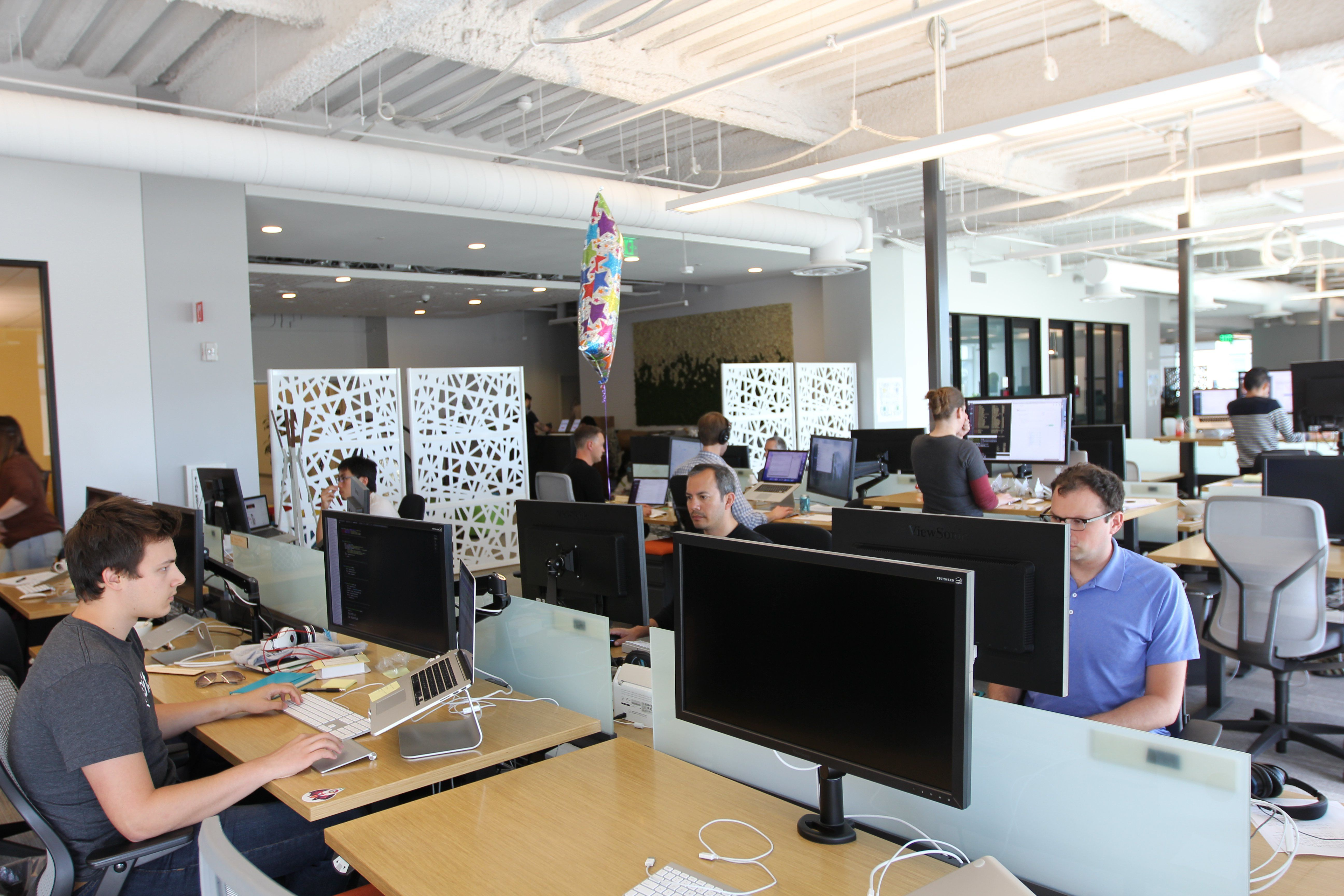 Slack'sfourth venture capital investment to date, Automat's communication technologymixes messaging, artificial intelligence andchatbots.