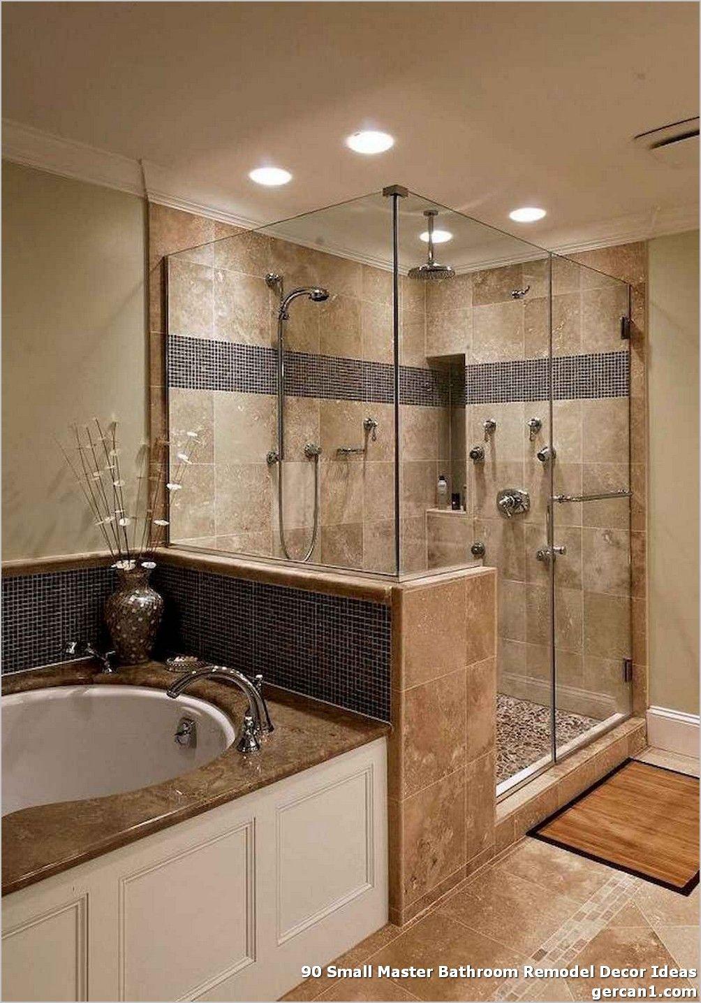 90 Small Master Bathroom Remodel Decor Ideas Luxury Master Bathrooms Bathroom Remodel Master Bathroom Remodel Shower