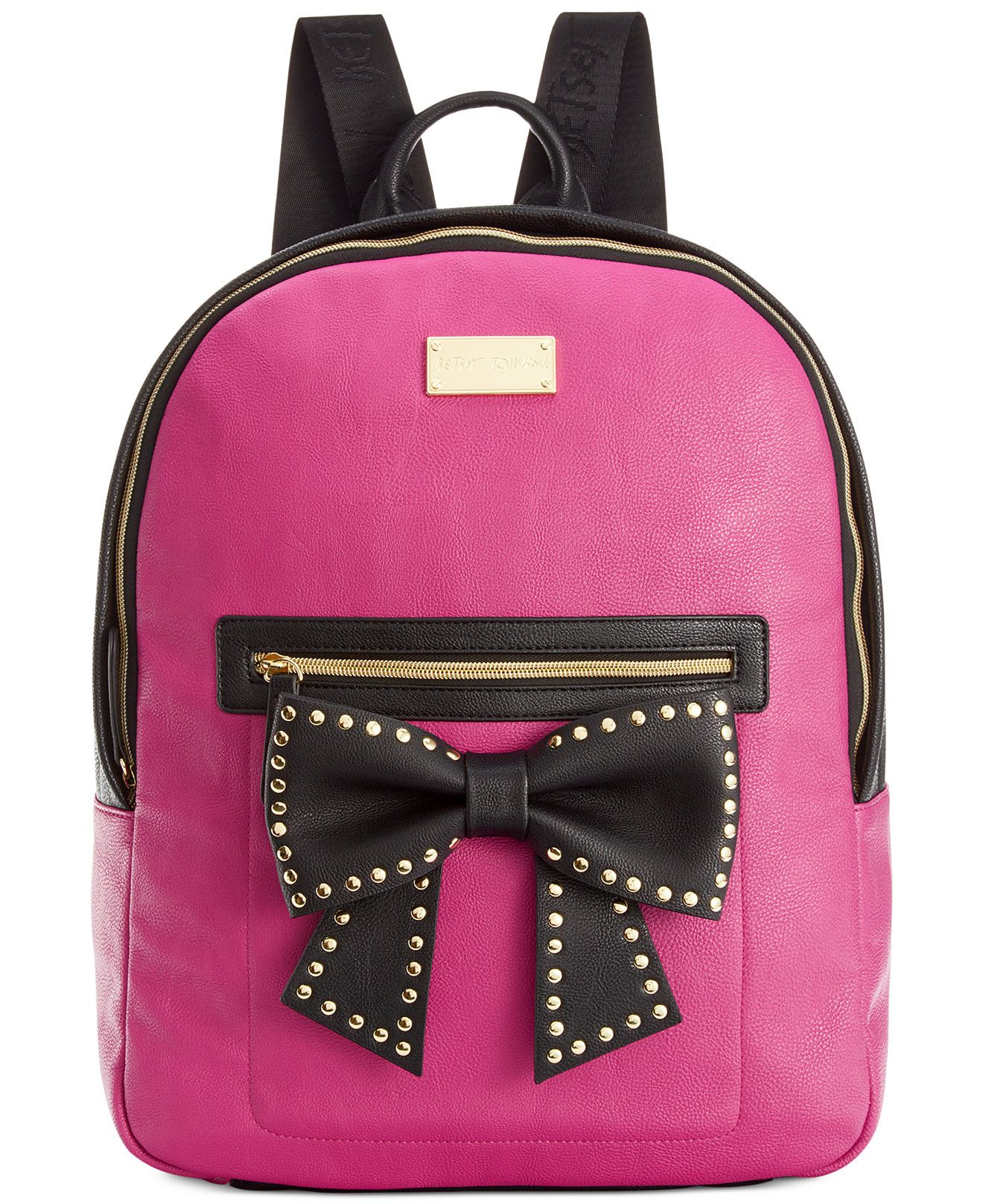 Betsey Johnson Macy s Exclusive Bow Backpack - Handbags   Accessories -  Macy s 501168b47b4a5