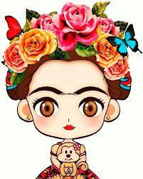 Resultado De Imagen Para Frida Kahlo Dibujo Caricatura Pinturas En