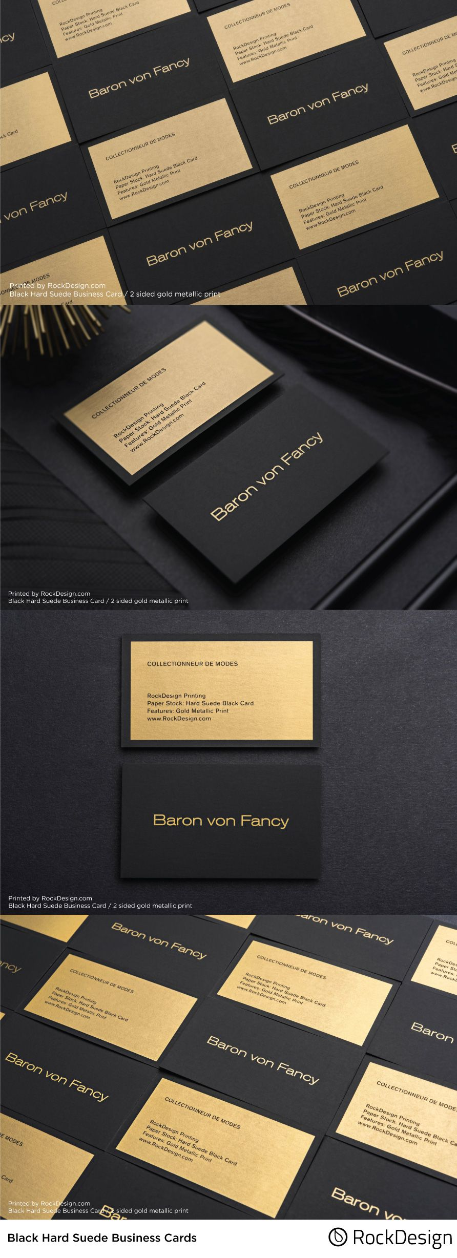 Elegant And Simplistic In Design Our Baron Von Fancy Card Is A Beautifully Balanc Luxury Business Cards Business Card Design Business Cards Creative Templates