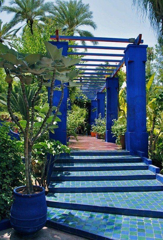 Garden Visit Marrakesh S Jardin Majorelle With Images
