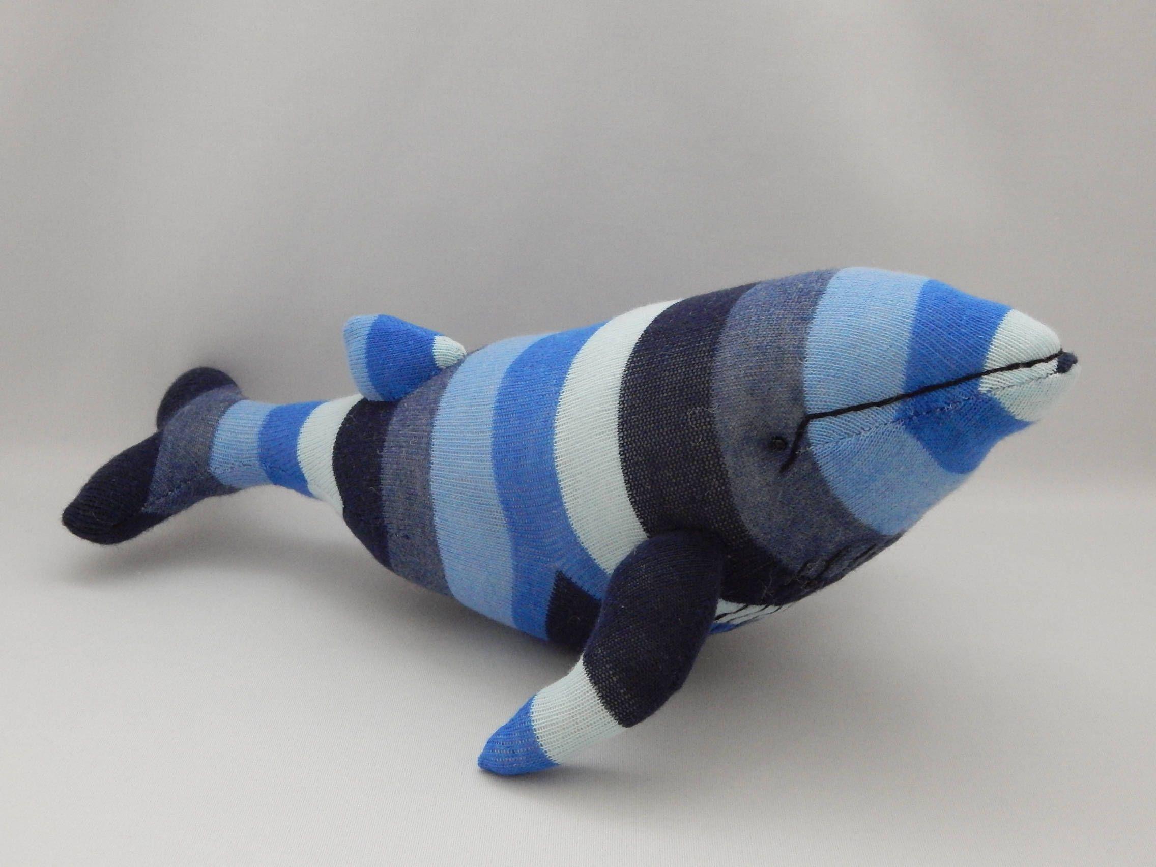 Humpback Whale Plush Toy Whale Stuffed Animal Whale Stuffed Toy
