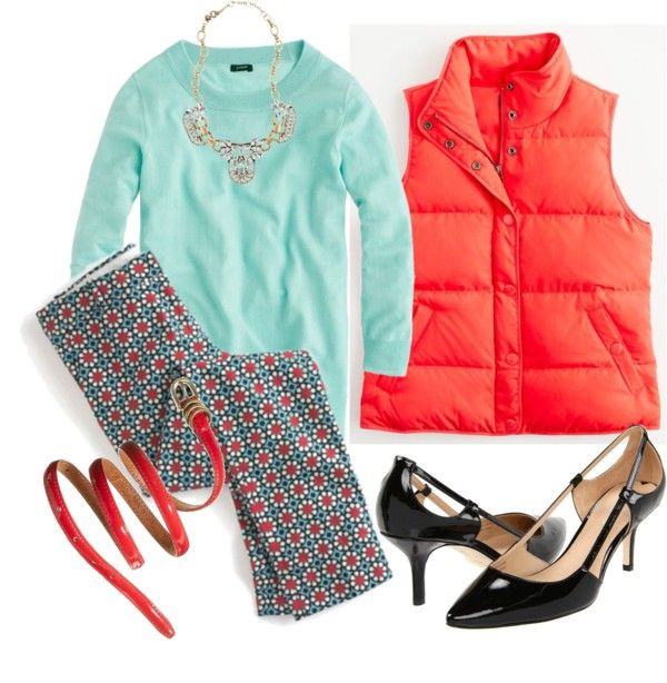 """""""Early Chills OOTD 10.12.2012"""" by jcrewchick on Polyvore"""