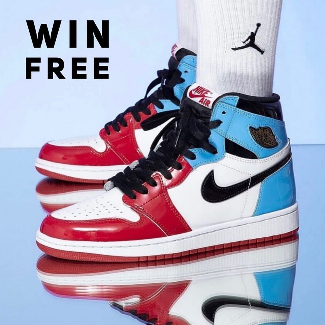 🔥 Giveaway 🔥  Win a FREE pair of Retro 1 Fearless  by following the simple steps below.  Here's how you can win🏆: 1️⃣ Follow: @Sneakerheadmchex @Pr_sneaks23 @Sneakerspics @Kickzstance @Addict_for_sneakers @Customizerdepot @Englishsole  @Shoe_game_shots_  2️⃣ Like this pic 📲 3️⃣ Comment Your Shoe Size ⠀⠀⠀(Unlimited Entries!) Instagram Does Not Sponsor, Endorse, or Associate with this Event. The Brands in this picture do not sponsor or associate with this event. ⠀