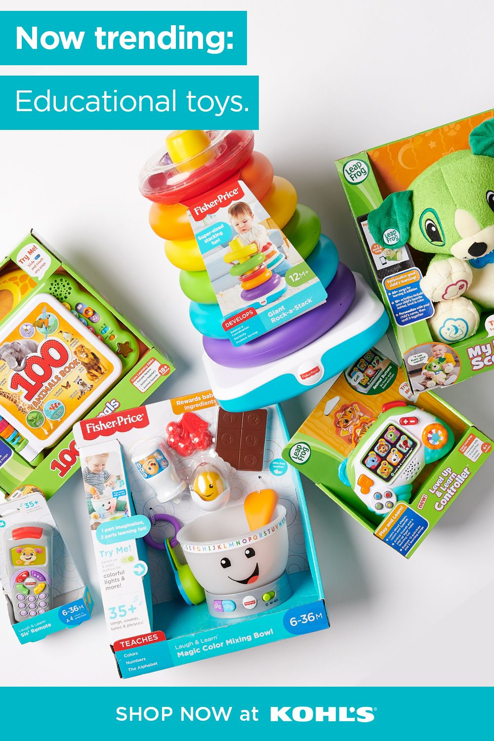 Find kids' learning toys at Kohl's. | Kids learning toys ...