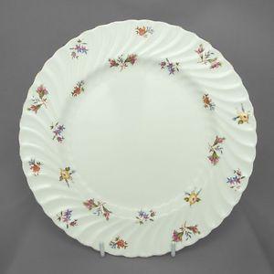 Aynsley vintage china dinner plate, Gaiety, c 1940-50s FREE post UK
