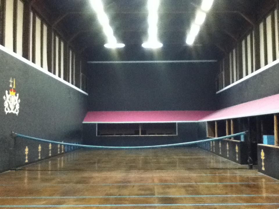 Hatfield House Real Tennis Court Best Court In The World Taken By Ryan Sealy Real Tennis Hatfield House Tennis