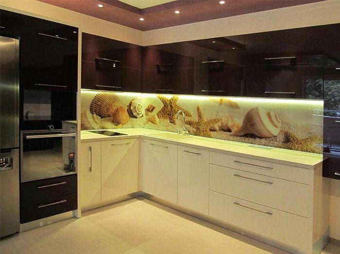 glasrückwand küche gut beleuchtet | Küchen | Pinterest ...