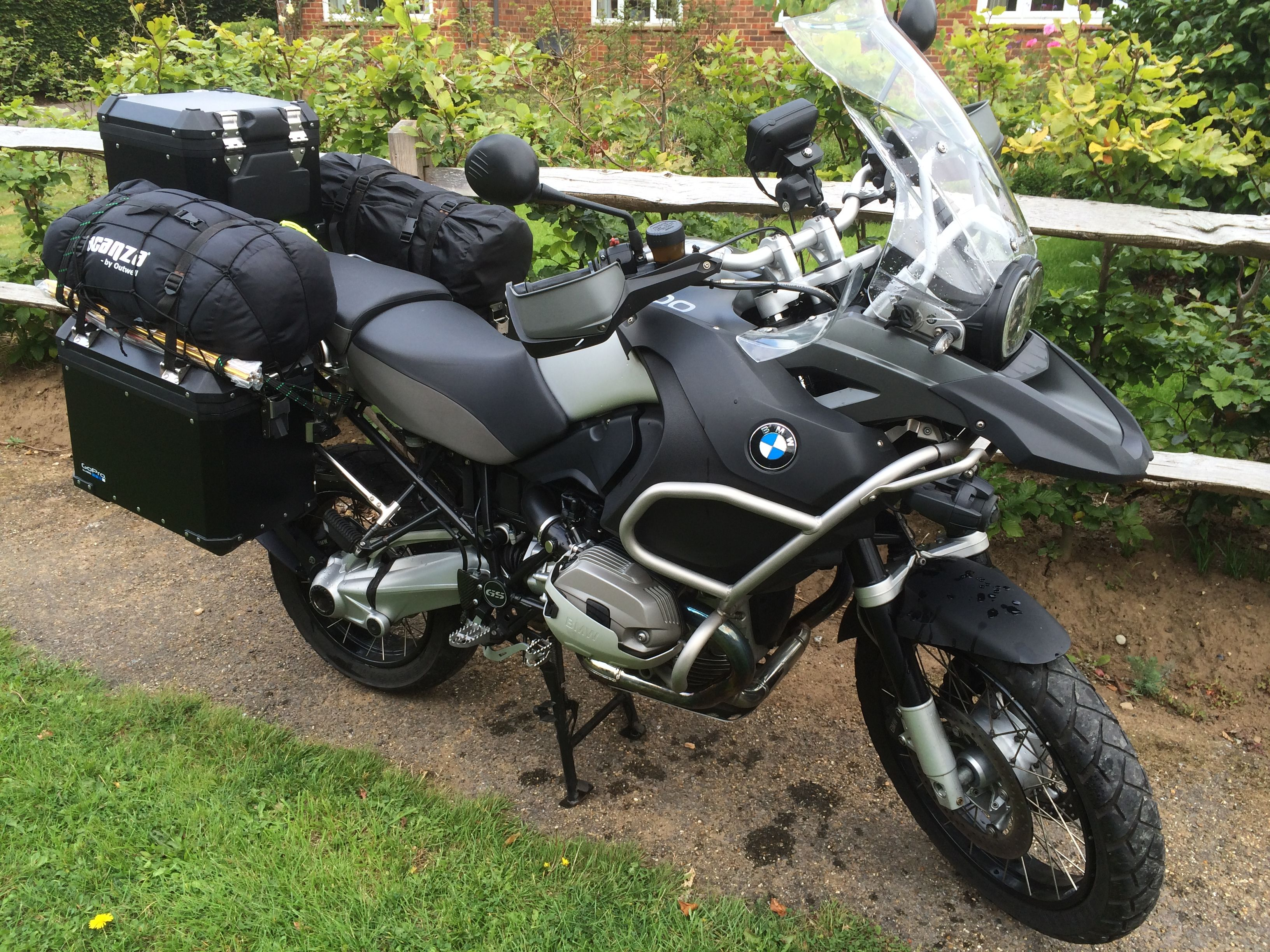 BMW R1200 GS Adventure - After getting to work with the