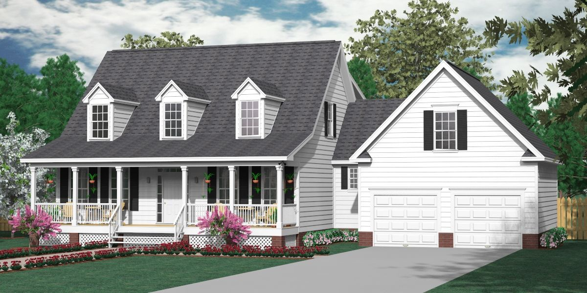 House Plan 2341 B Montgomery B Traditional 1 1 2 Story: 2 story traditional house plans