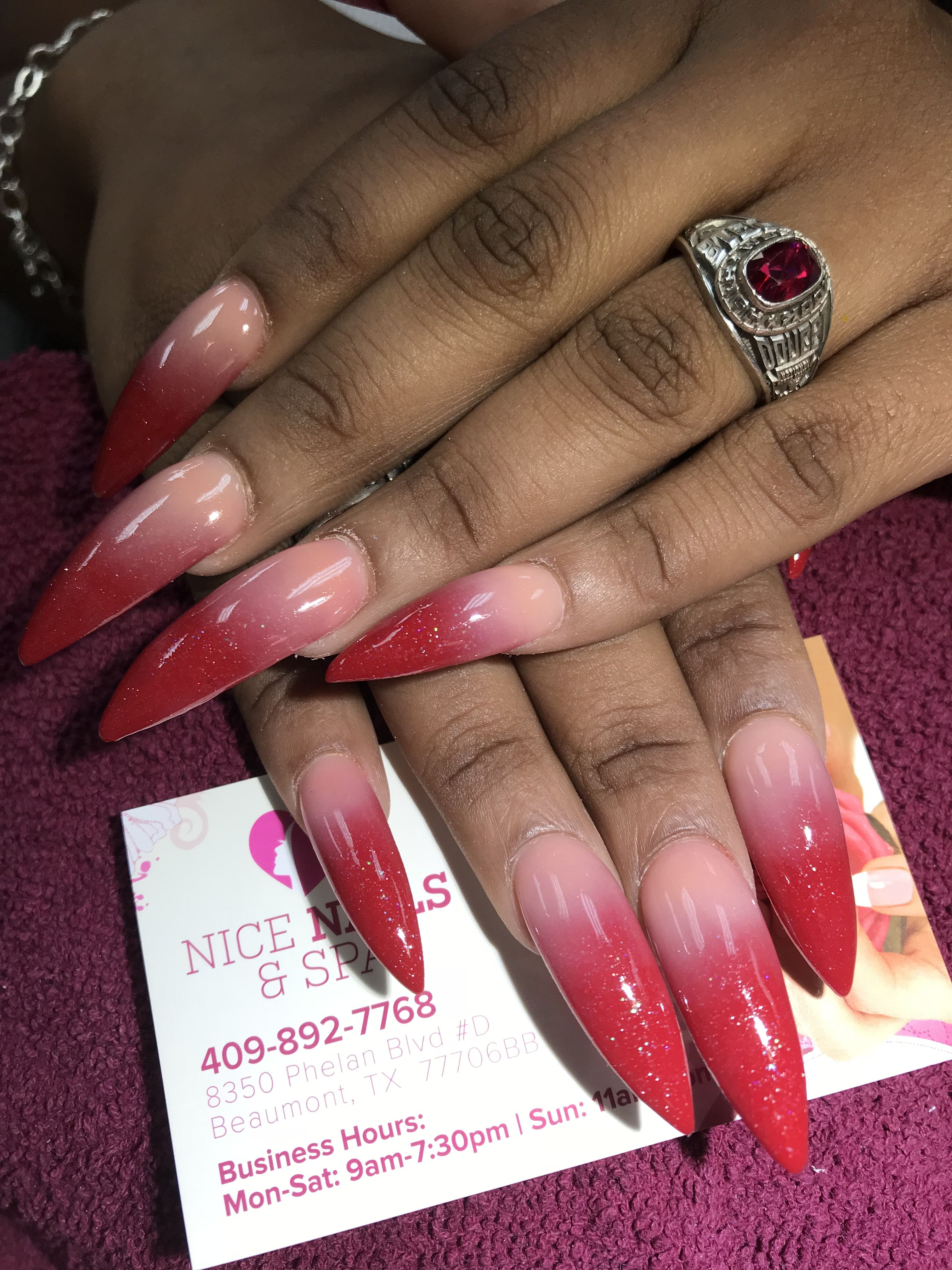Nice Nails and Spa Beaumont, TX | Nice nails | Pinterest