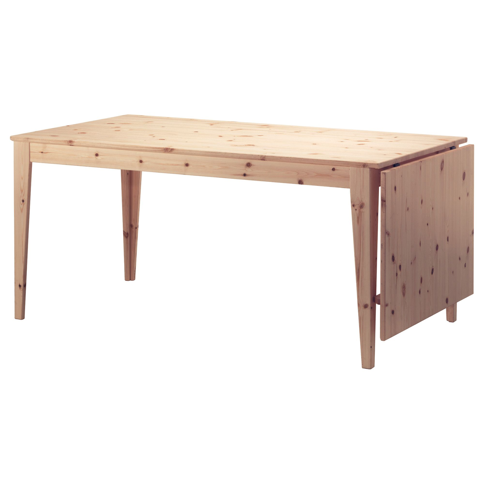 Ikea Norn S Drop Leaf Table Solid Pine Is A Natural Material  # Muebles Pikeando