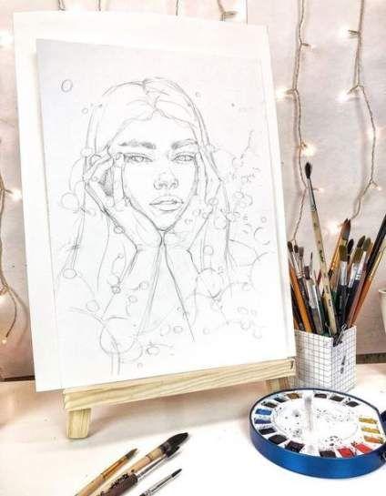 Photo of Fashion illustration portrait collage 43 ideas