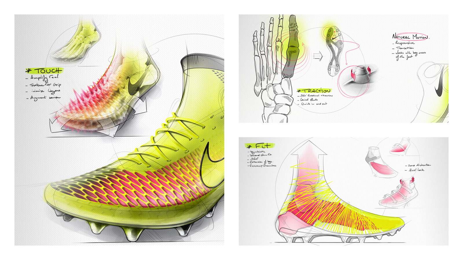 LOVEloveLOVE the product design and marketing presentation #nike #magista