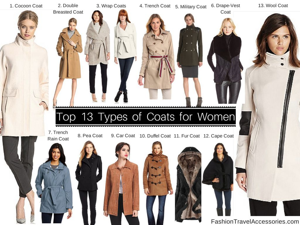 Top 13 Types of Coats tips, reviews & guides for Women to Wear for ...