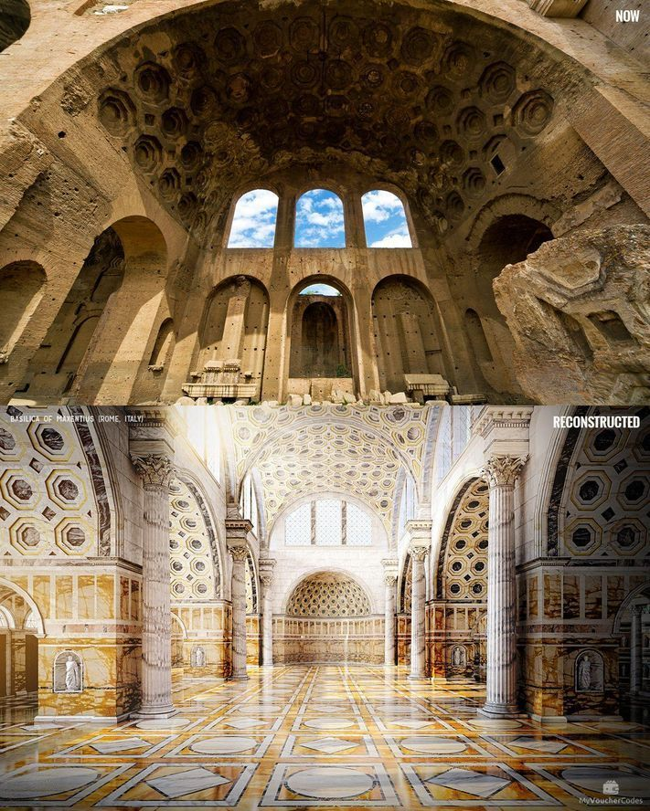 See Seven Famed Ancient Ruins Restored Back To Their