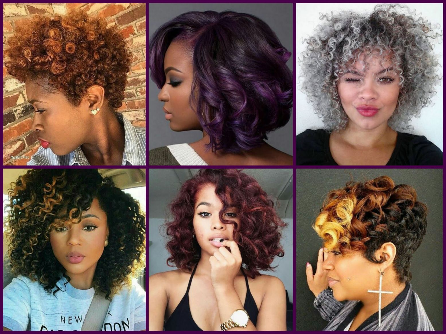 Black Women Colored Hair - Best at Home Semi Permanent Hair Color ...