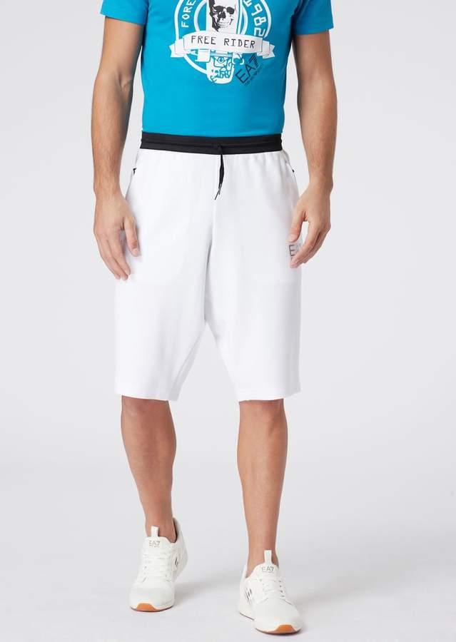 6eb73cb4e1 Emporio Armani Ea7 Natural Ventus7 Shorts In Cotton And Polyester in ...