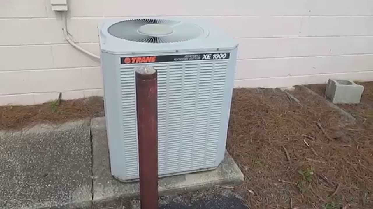 Necessary Information about Trane XE1000. Trane XE1000 for ...