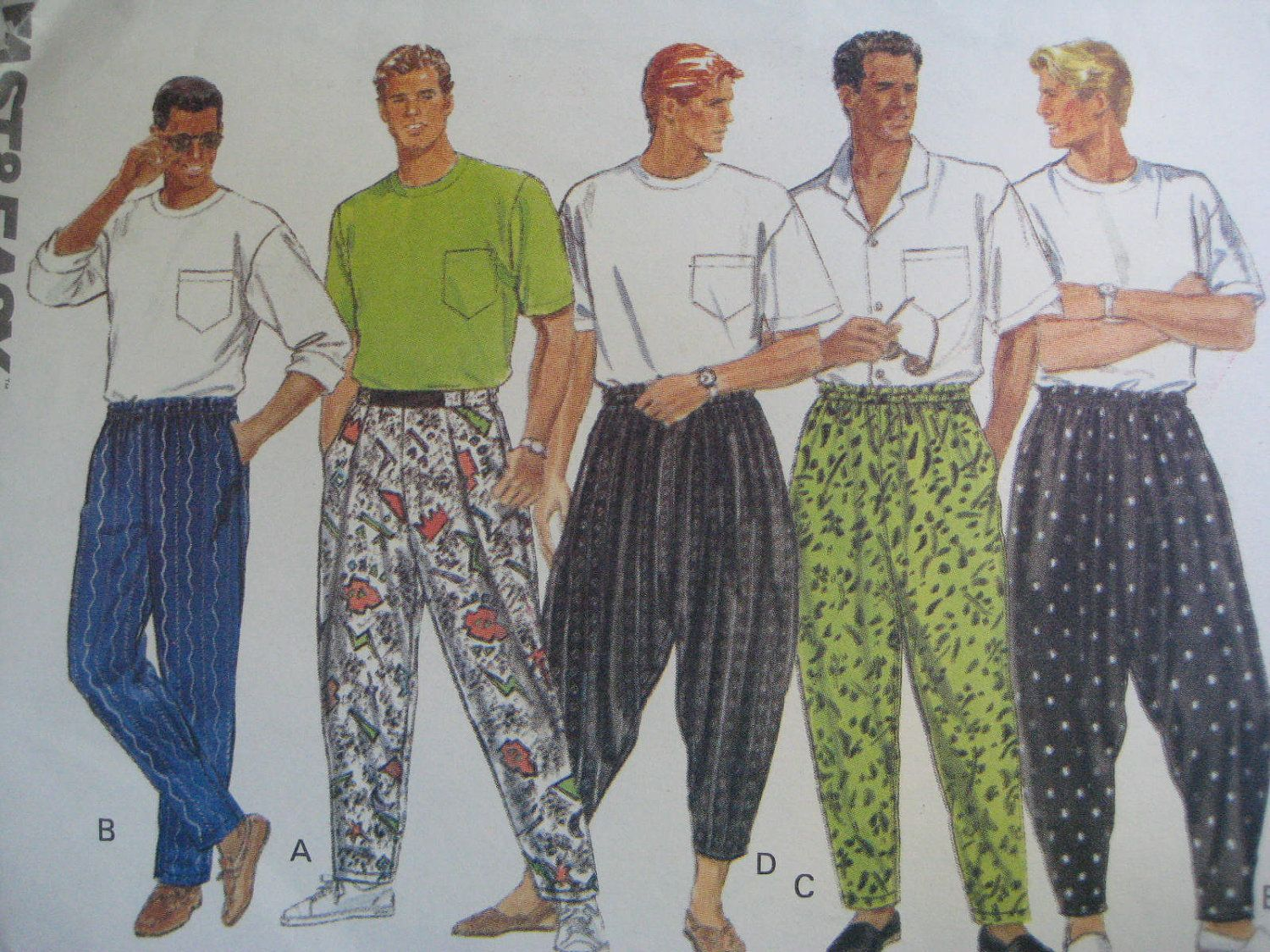 Parachute Pants- yep... no words for this clothing fad ... - photo #28