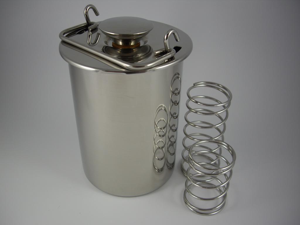 Szynkowar Ze Stali Nierdzewnej Schinkenfee Praska 6030411042 Oficjalne Archiwum Allegro Flask Barware Items