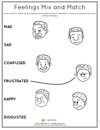 Help Children To Identify Different Emotions With The Worksheet Download See All Of Our Therapeutic Resource Feelings How To Express Feelings Teaching Empathy