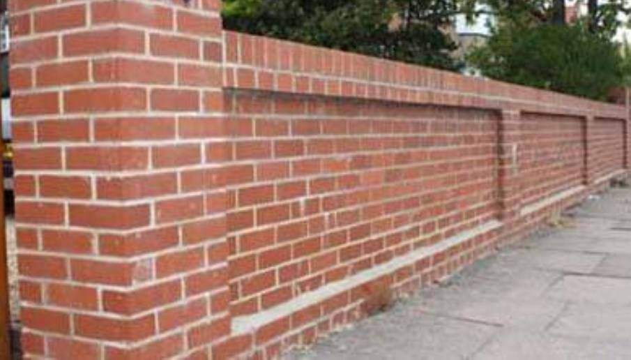 brick fence designs Google Search Brick walls Pinterest