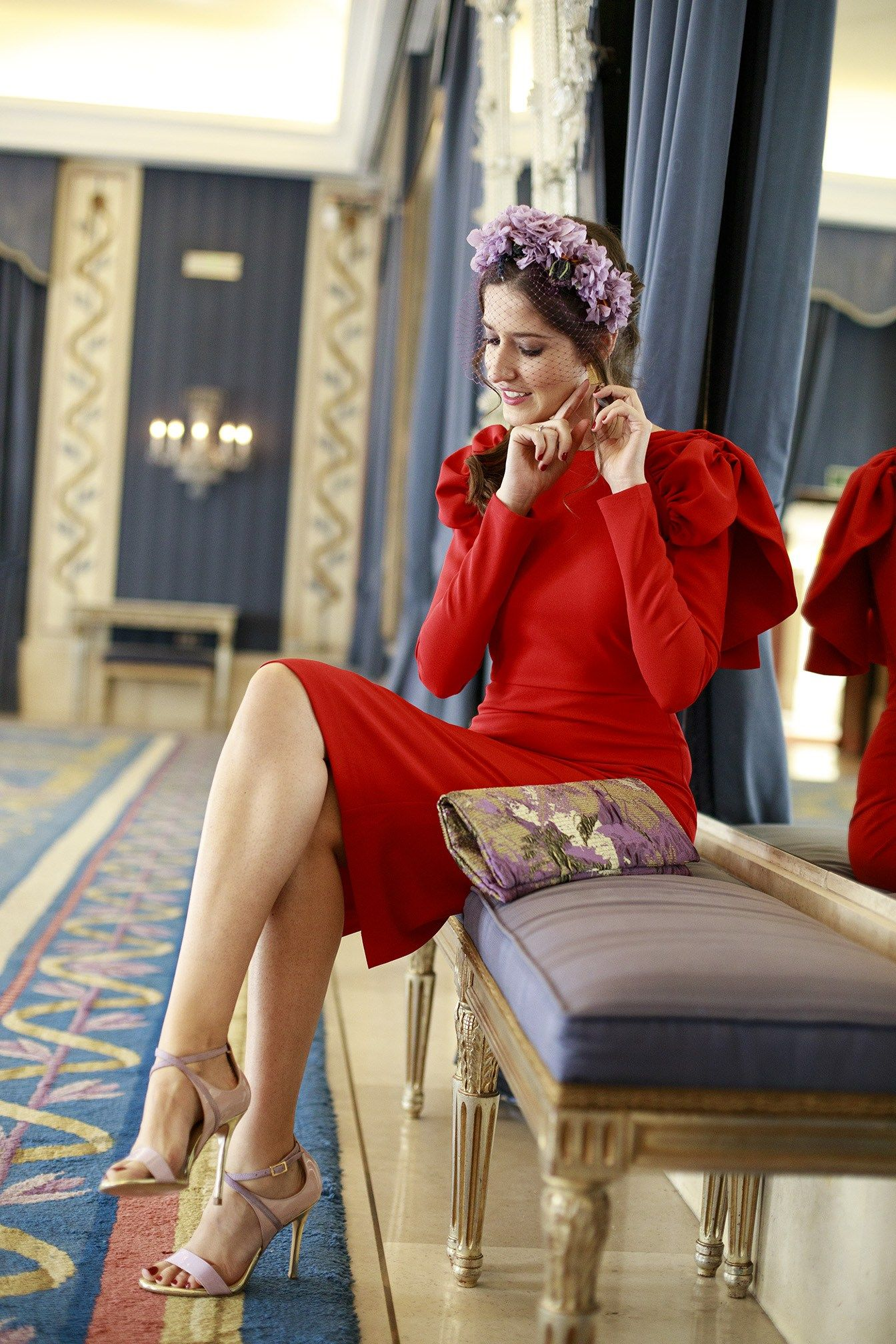 Vestido rojo para comunion