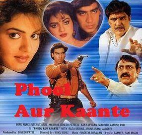 Phool Aur Kaante 1991 Hindi Action Movies Festival Watch Movies
