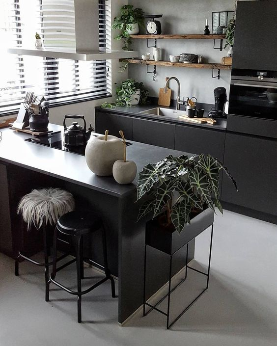 Kitchen Countertops 25+ Most Popular Ideas of 2019 for Trendy Decor is part of Industrial decor kitchen - Check out dozens of latest kitchen countertops that you will totally adore! Pick the one that you really love and decorate your kitchen ASAP!