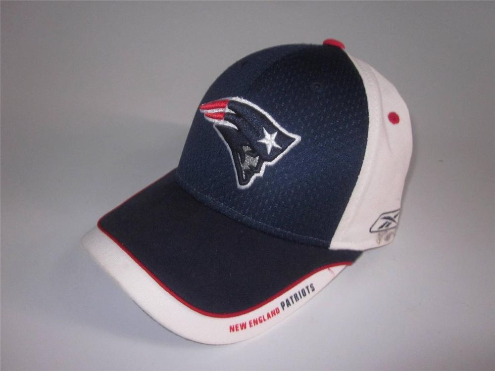 98f54888 NEW ENGLAND PATRIOTS CAP~BASEBALL LOGO CAP~PATS~TOM BRADY~Bill ...