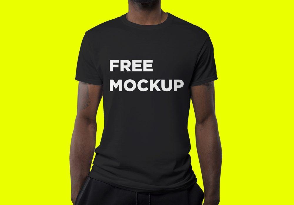 Estampa em camiseta não é coisa do passado; Mockup Camiseta 17 Shirt Mockup Tshirt Mockup Clothing Mockup