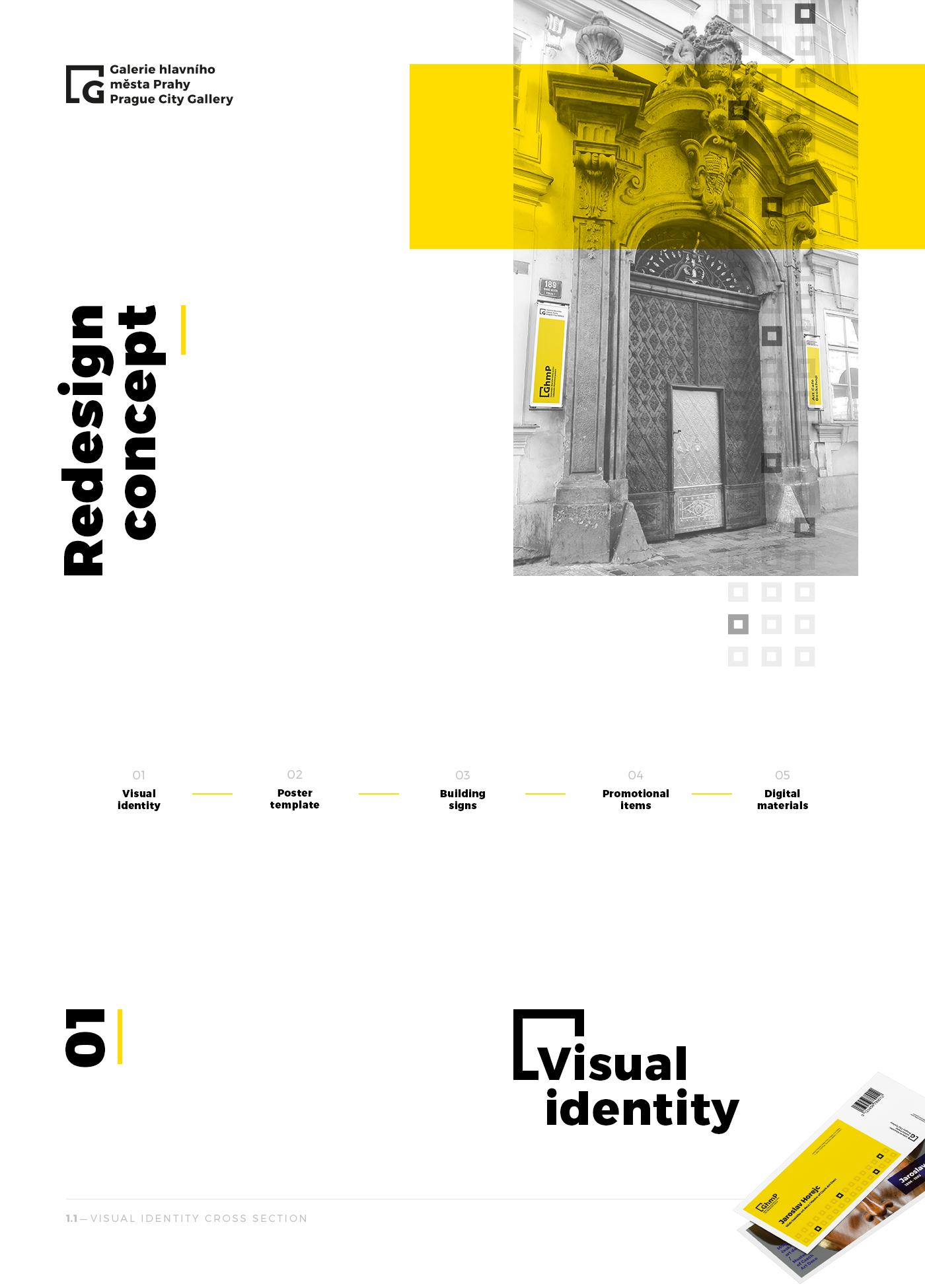 Prague City Gallery Redesign Concept Ghmp